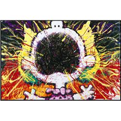 Big Loud Screaming Blonde by Tom Everhart