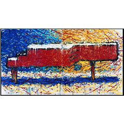 Piano No. 9 by Tom Everhart