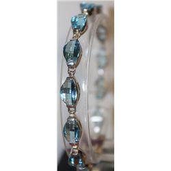 Gorgeous Royal Blue Topaz Bracelet