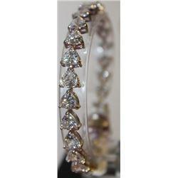 Gorgeous White Topaz Bracelet