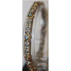 Beautiful Blue Topaz Bracelet