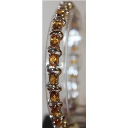 Gorgeous Yellow Sapphire Bracelet
