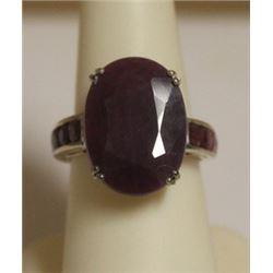 Unisex Ruby Ring