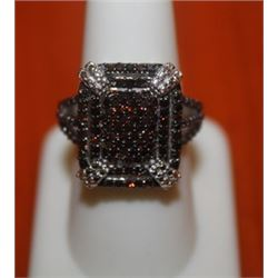 Fascinating Red Diamond Ring