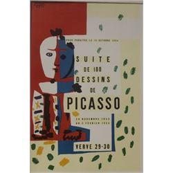 Pablo Picasso Lithograph Dessins