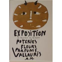 exposition du 24 juillet au 29 aout (2) - Litho -  Picasso