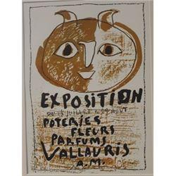 Exposition du 24 juillete au 29 aout lithograph -  Picasso