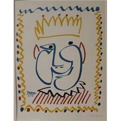 royalty - Lithograph -  Picasso