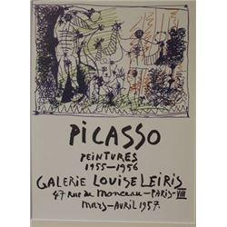 Galerie Louise leiris  Lithograph -  Picasso