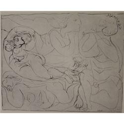Boisqeloup lithograph  -  Picasso