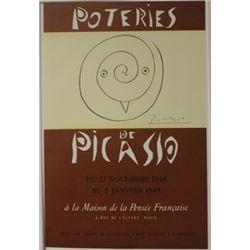 Poteries De  Picasso Lithograph