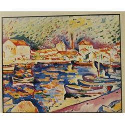 Venice - Lithograph - Braque