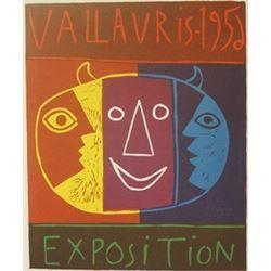 1952 Vallavris Lithograph -  Picasso (2)