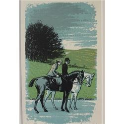 Daytime Stroll - Lithograph -  Lamb