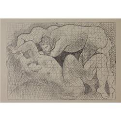 The Rape - 1931 Lithograph -  Picasso