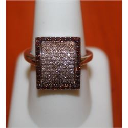 Dazzling Square Shaped Ring