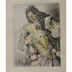 Sleeping Beauty - lithograph -  Legrand