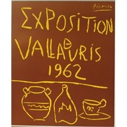 1962 Vallavris Lithograph -  Picasso