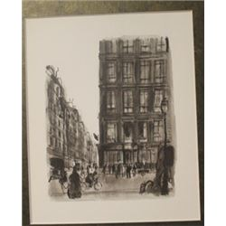 Busy Streets Lithograph - Legrand
