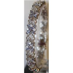 Beautiful Tanzanite and Sapphire Bracelet