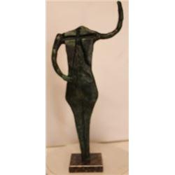 Patina Bronze Sculpture - Rufino Tamayo