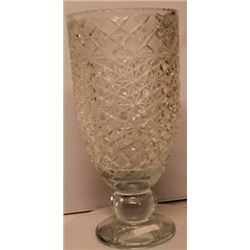 Large Turkey Crystal Glass Vase