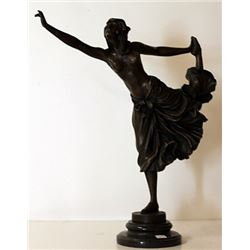 Dancer - Bronze Sculpture - Colinet