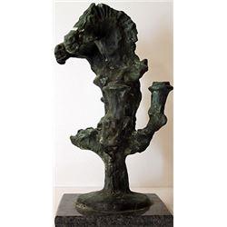 Patina Bronze Sculpture - Deigo