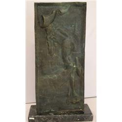 Bronze Sculpture on a Marble Base - Salvador Dali