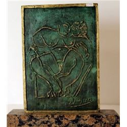 Patina Bronze Sculpture - Pablo Picasso
