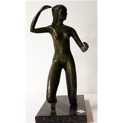 Limited Edition Patina Bronze Sculpture - Leo Mol
