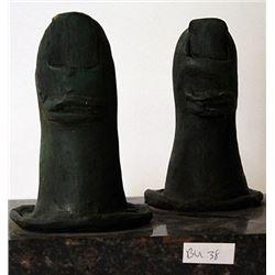 Patina Bronze Sculpture - Salvador Dali