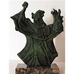 Patina Bronze Sculpture - Artist Rufino Tamayo