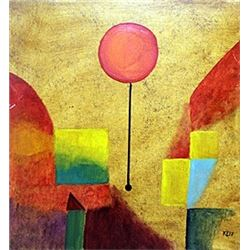 The Balloon, 1914 - Oil on Paper - Paul Klee