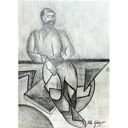 Portrait of a Man - Drawing - Albert Greizes