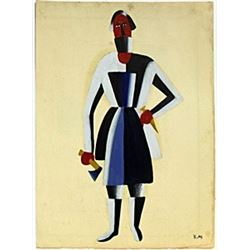 Carpenter 1910' - Kazimir Malevich