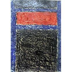 Pastel Drawing on Paper - Mark Rothko