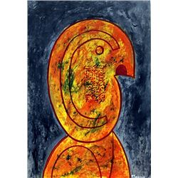 Oil Painting on Paper - Rufino Tamayo 1979
