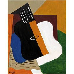 Guitar and Table 1915' - Juan Gris