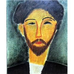 Mr Conrad 1910' - Pastel - Amadeo Modigliani