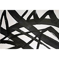 Painting V - Oil on Paper - Franz Kline