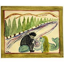 Melancholy - Edvard Munch