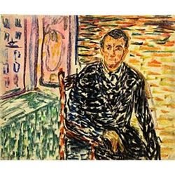 SelfPortrait - Edvard Munch