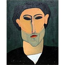 Portrait of Andre - Amadeo Modigliani