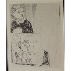 Recollection - Lithograph -  Picasso