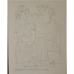 Fulto Playor - Lithograph -  Picasso