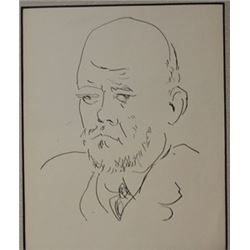Sketch of man - Lithograph -  picasso