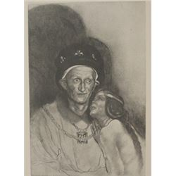 Charles VI - Lithograph -  Unknown