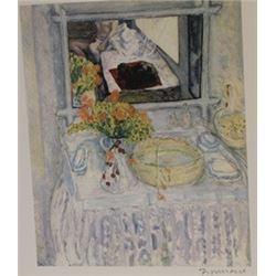 Room Service  - Signed Lithograph -  Bonnard