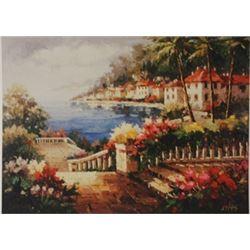 Mediterranean View  - Signed Lithograph -  Bonnard